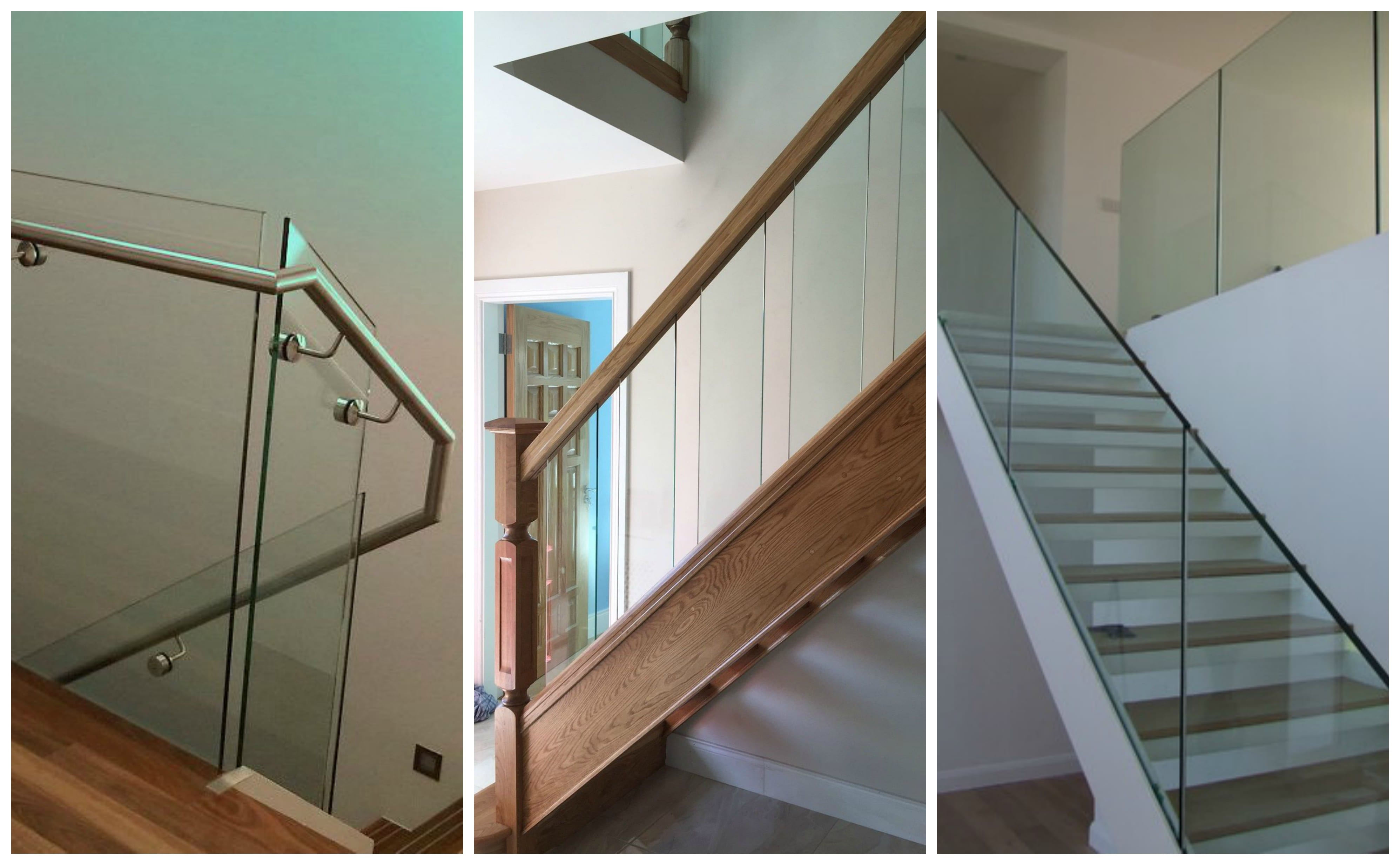George Quinn Stair Parts Plus - Staircase Design Trends - Glass
