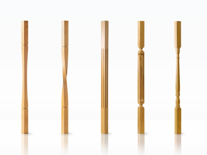 Staircase Spindles Modern and Traditional-George Quinn Stair Parts Plus